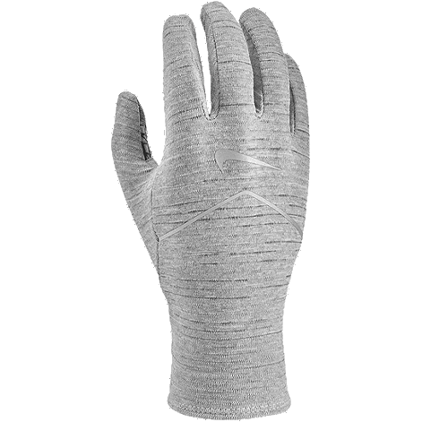 Nike Women's Hthr Sphere Running Gloves 2.0 - Particle Grey