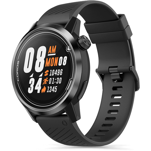 APEX 46mm Premium Multi-sport Watch - Grey/Black