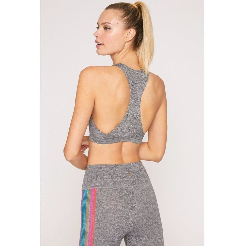 Reana Sports Bra - Medium Heather Grey