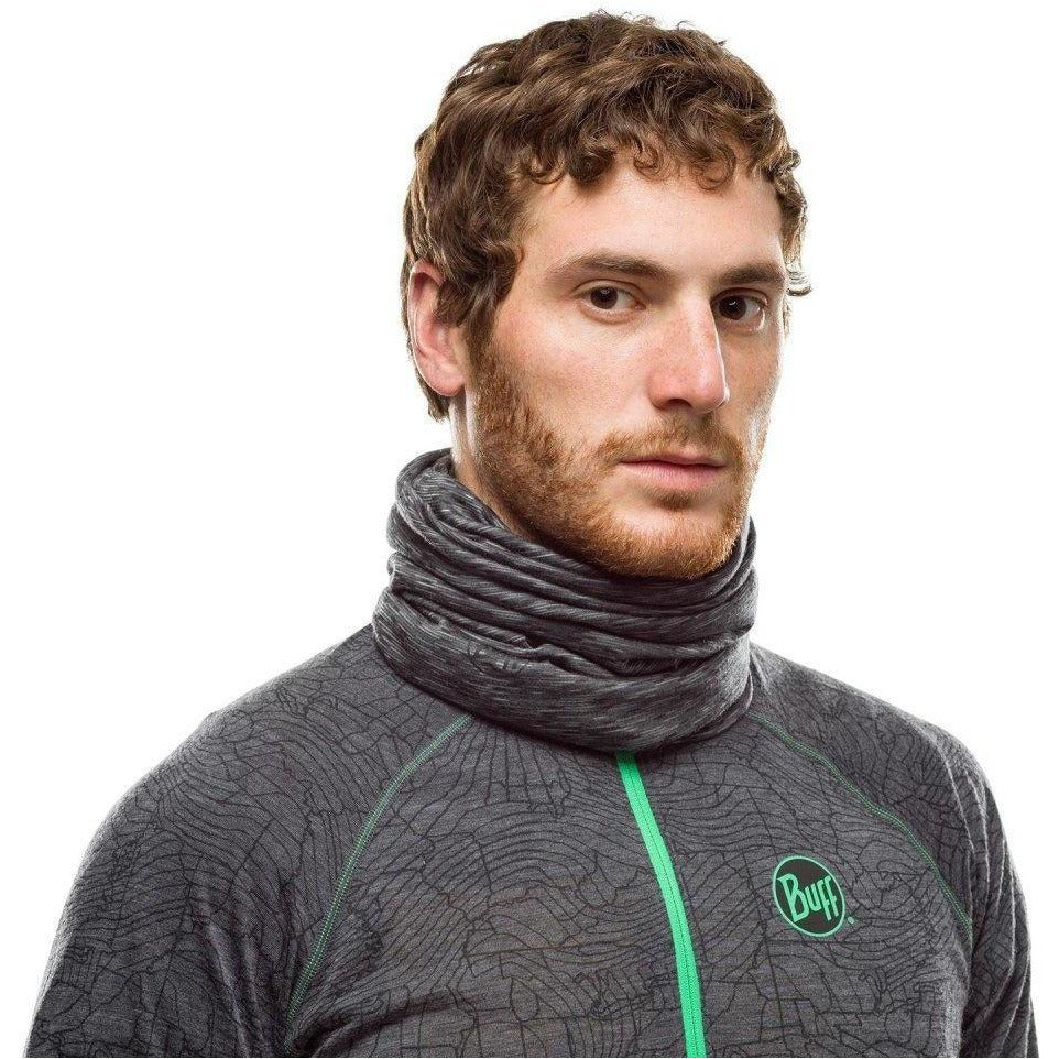 Lightweight Merino - Graphite Multi-Stripe
