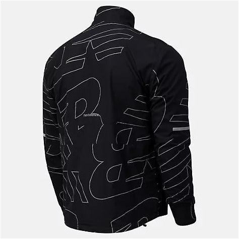 Mens Reflective Accelerate Protect Jacket - Black