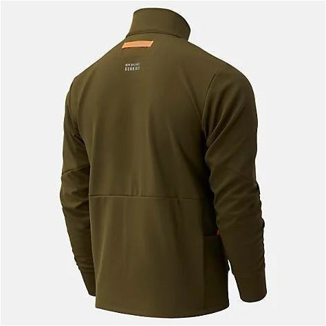 Mens Impact Run Winter Jacket - Nettle Green