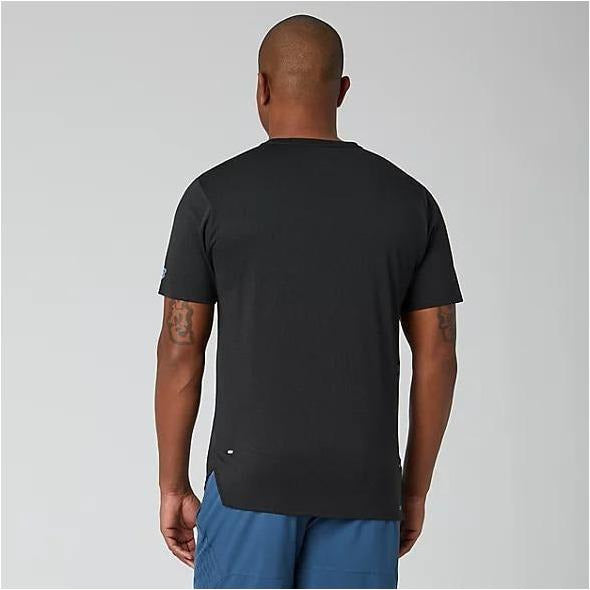 Mens Q Speed Jacquard Short Sleeve - Black