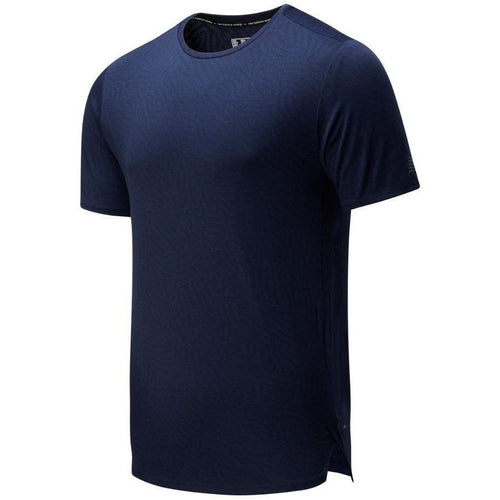 Mens Q Speed Jacquard Short Sleeve - Eclipse Heather