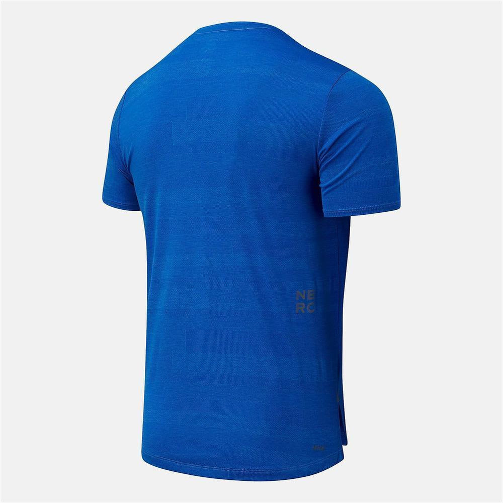 Mens Q Speed Fuel Short Sleeve - Faded Cobalt