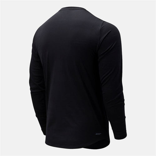 Mens Q Speed Fuel Long Sleeve - Black
