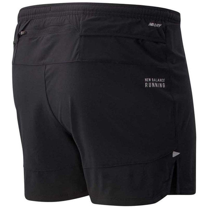 Mens Impact Run 5'' Short - Black