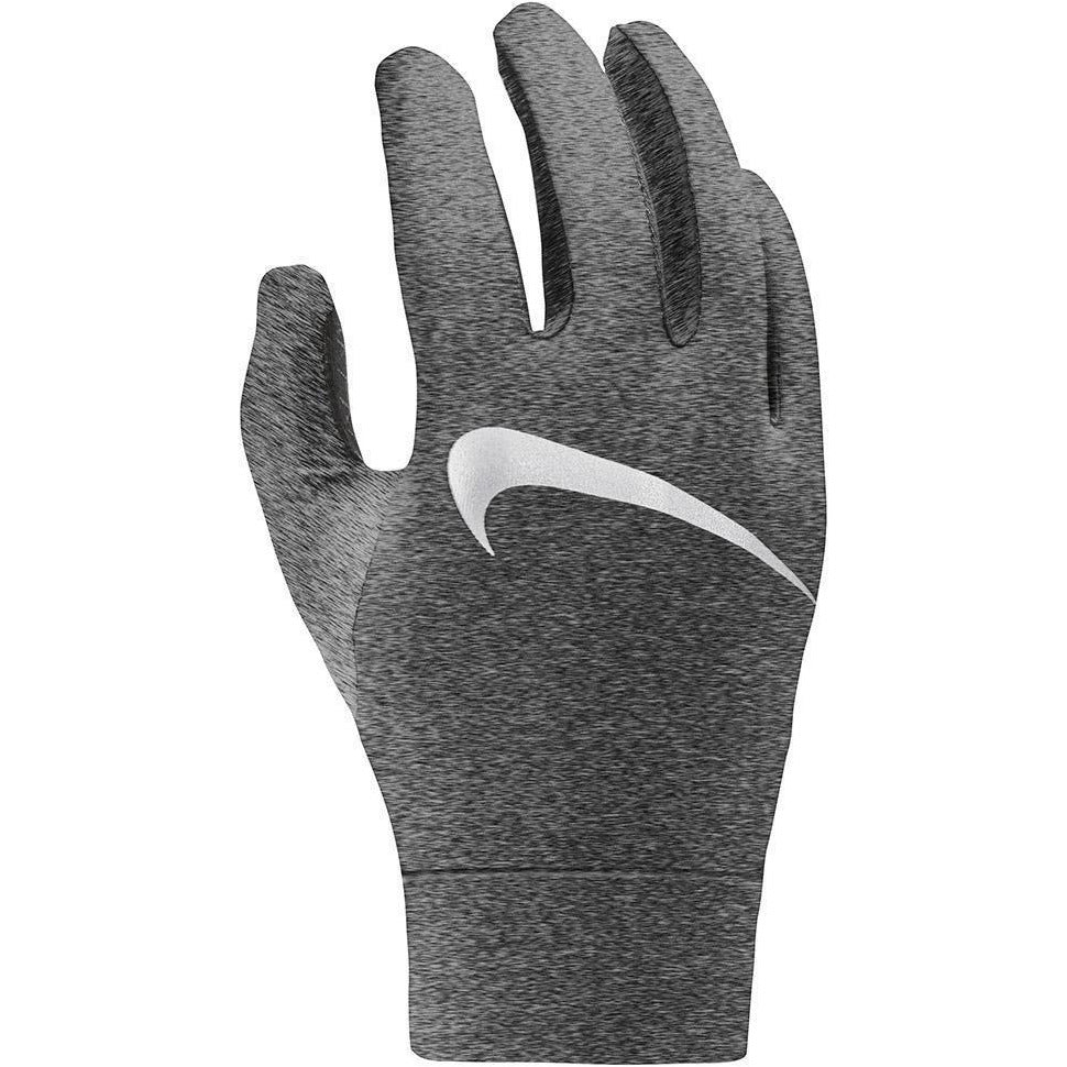 Mens Dry Element 2.0 Running Glove - Heathered Smoke Grey/Silver