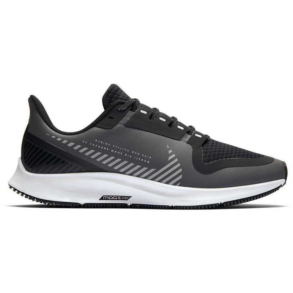 Womens Air Pegasus 36 Shield - Grey/White