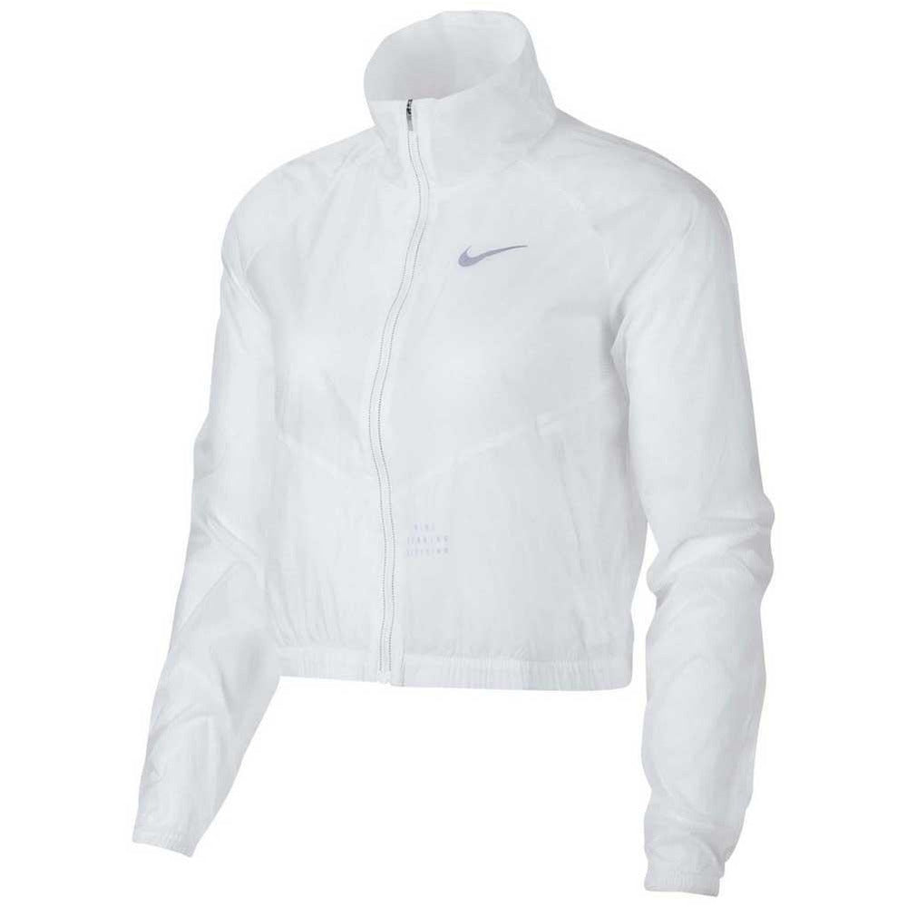 Womens Run Division Jacket - Transparent