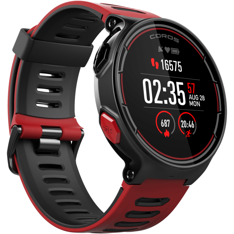 Pace Multi-sport Watch - Red/Black