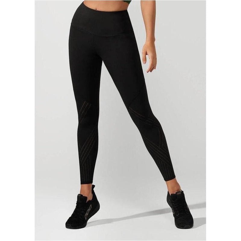 Womens Serenity Booty Support Full Length Tight - Black