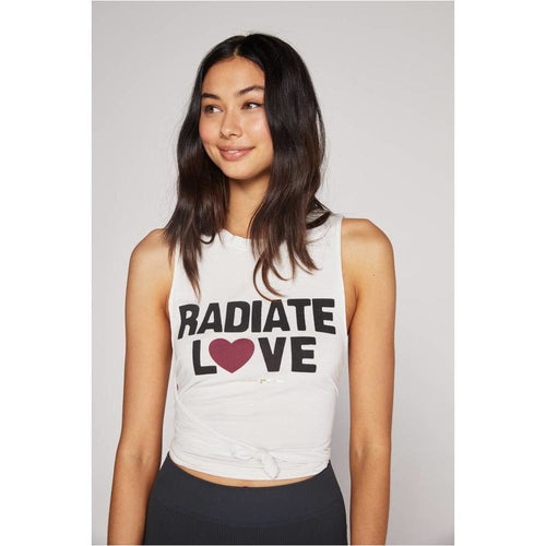 Radiate Love Swing Tank - STONE