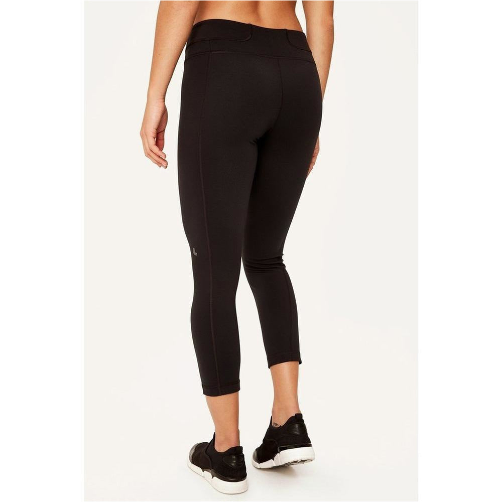 Womens Motion Crop - Black