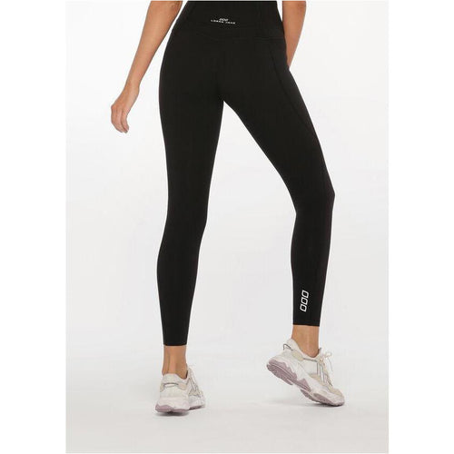 Womens Stomach Support Full Length Leggings - Black