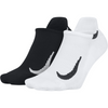 Nike Multiplier No Show (2 Pack) - Black/White