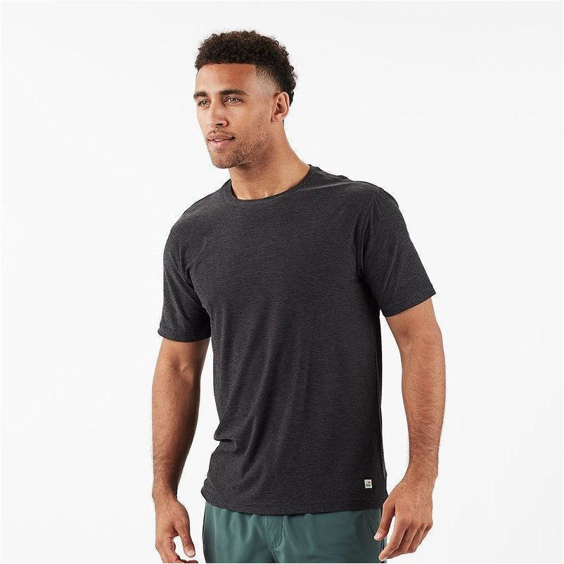 Mens Strato Tech Tee - Charcoal Heather