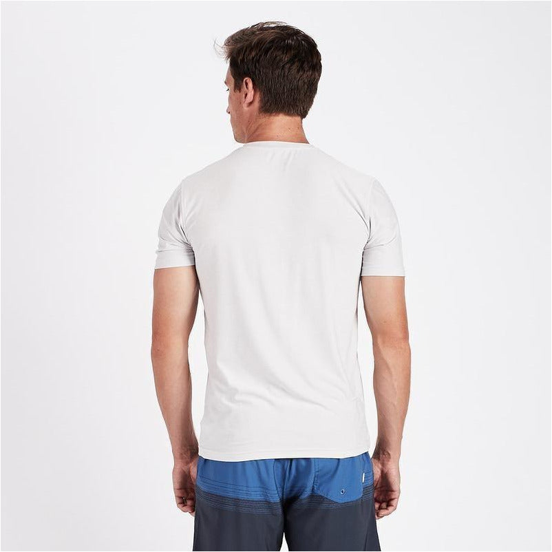 Mens Strato Tech Tee - Salt Heather