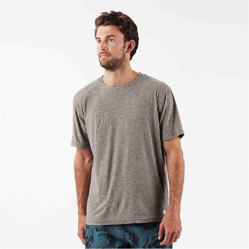 Mens Strato Tech Tee - Heather Grey
