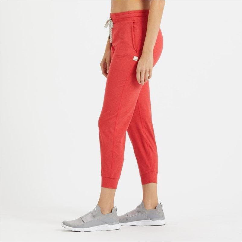 Womens Performance Jogger - Melon Heather