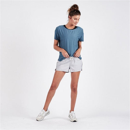 Womens Clementine Short - Light Heather Grey