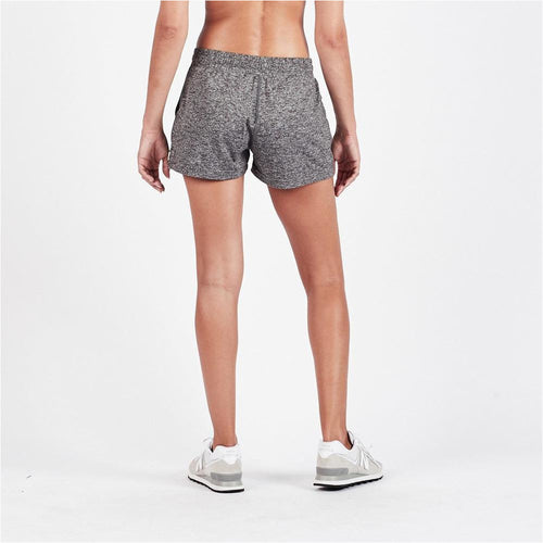 Womens Halo Performance Short - Heather Grey