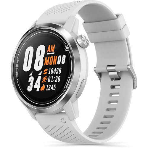 APEX 46mm Premium Multi-sport Watch - White