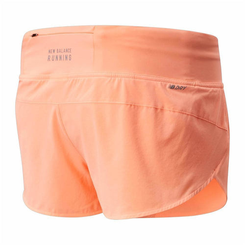"Womens Impact Run Short 3"" - Ginger Pink"