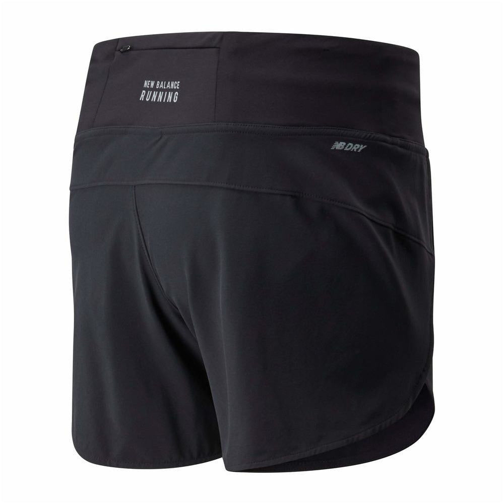 "Womens Impact Run Short 5"" - Black"