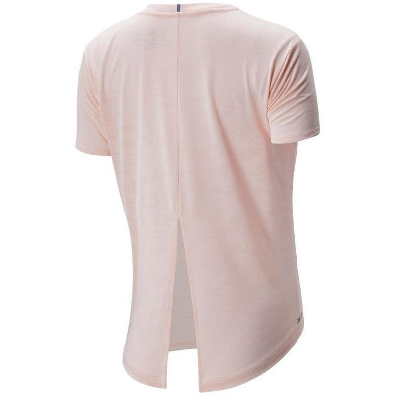 Womens Speed Jacquard Short Sleeve - Peach Soda