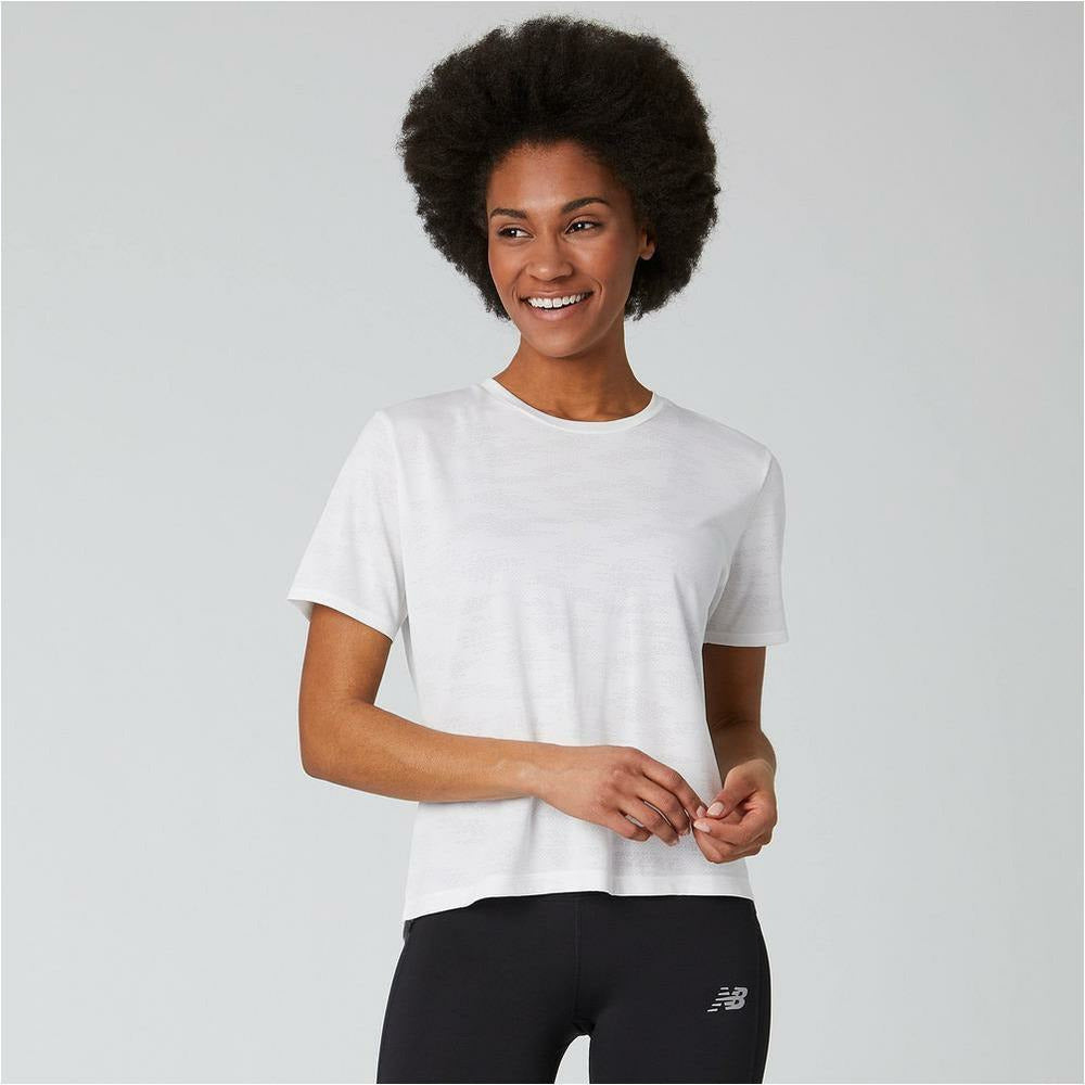 Womens Q Speed Jacquard - White