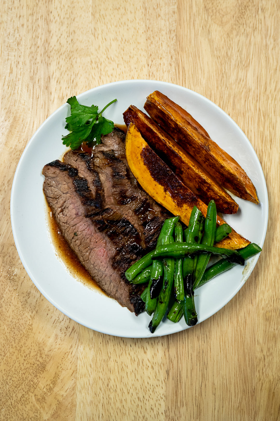 Thyme and Rosemary Steak