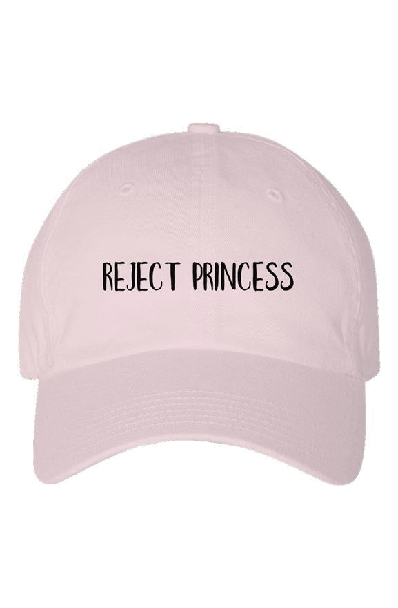 Reject Princess Embroidered Hat