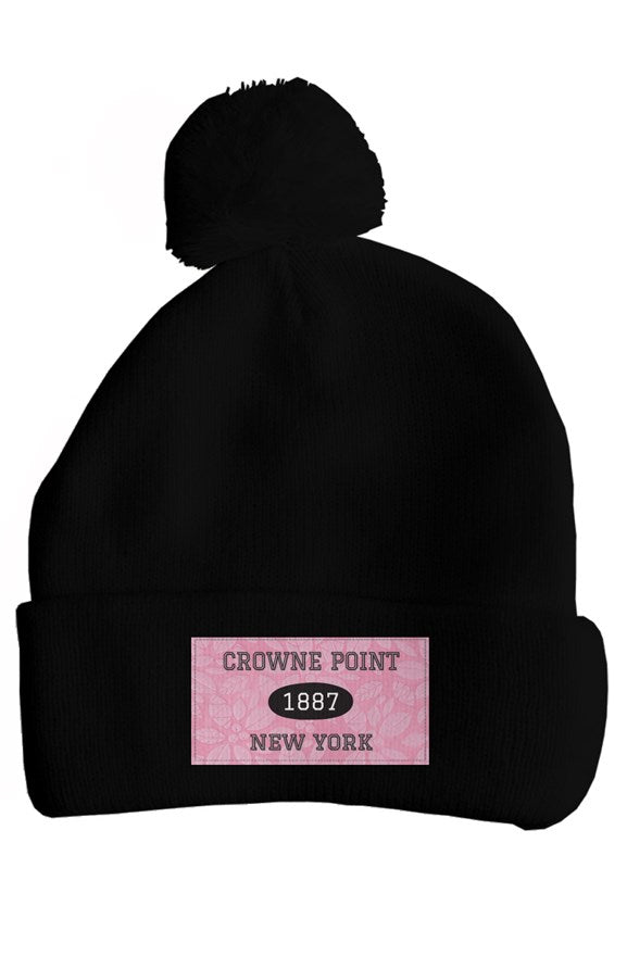 Crowne Point dept. of tourism Pom Pom Hat