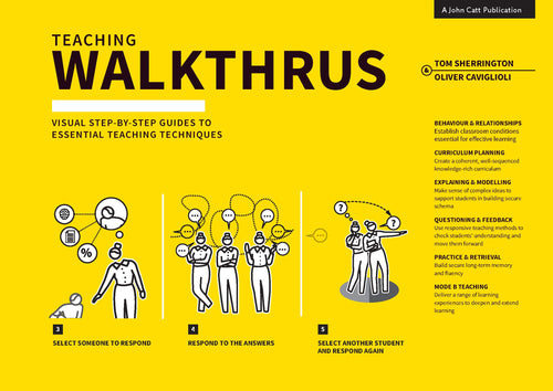 Teaching WalkThrus: Visual Step-by-Step Guides to Essential Teaching Techniques