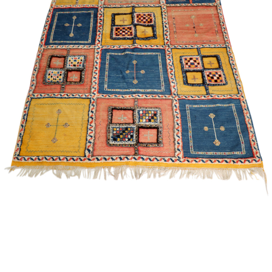 "Azmour Moroccan Rug - 59"" x 105"""