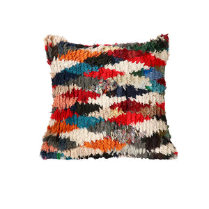 Boucherouite Rug Floor Pillow