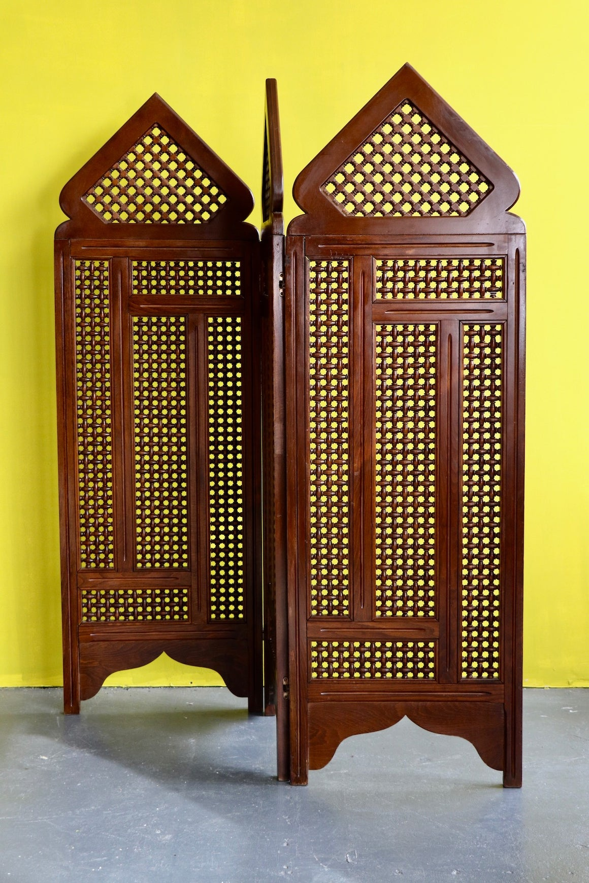 Egptian Mosharabia Wooden Screen