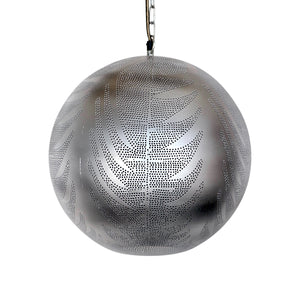 Moroccan Silver Pendant Light