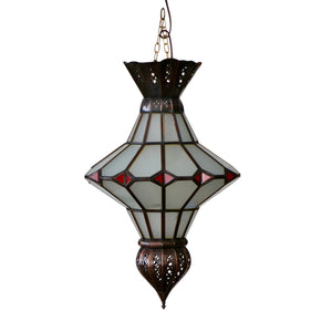 Moroccan Dark Metal Lamp