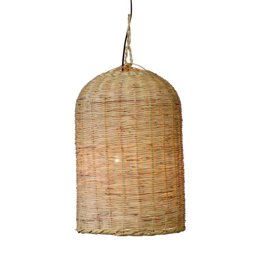 Moroccan Oval Wicker Lamp