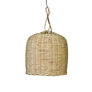 Moroccan Wicker Hanging Lamp