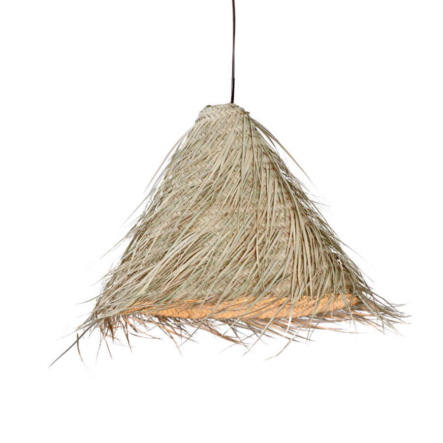 Moroccan Straw Hanging Lamp
