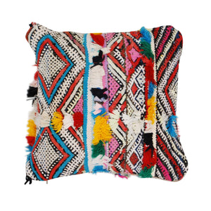 Berber Kilim Throw Pillow