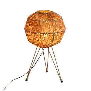 Moroccan Rafia Table Lamp