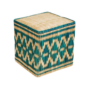 Boho Wicker Stool