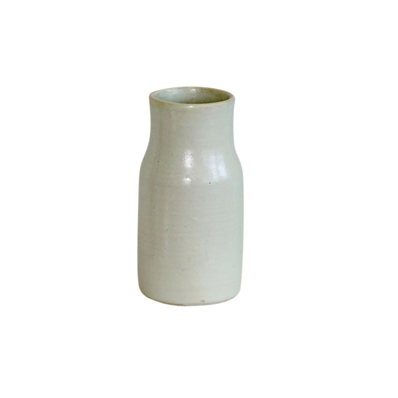 Moroccan  Ivory Pottery Vase
