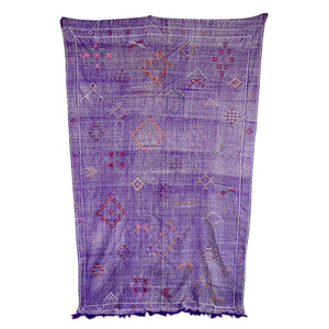 Silk Purple Sabra Rug