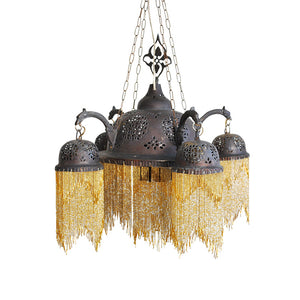 Syrian Beads Chandelier