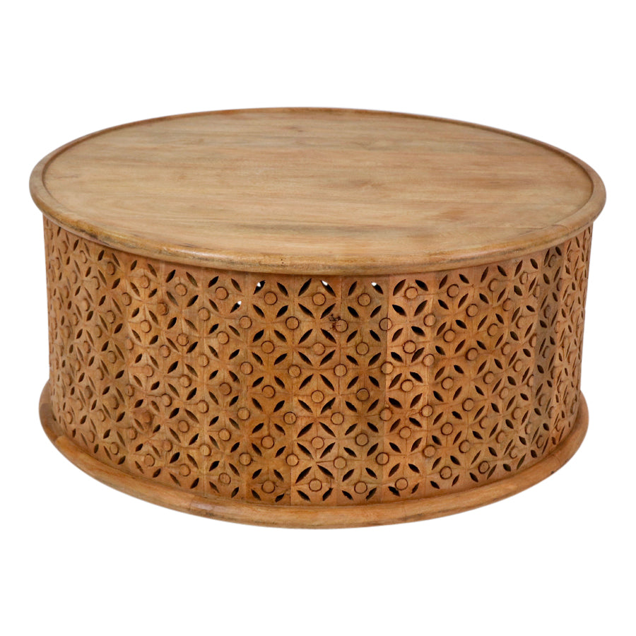 Jain Drum Coffee Table